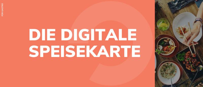 Digitale Speisekarte, einfach, online, Gastronomie, Corona