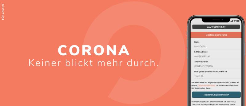 Maßnahmen, Corona, Covid-19, Gastronomie, digital, Speisekarte, Hilfe, Corona, digitale Speisekarte